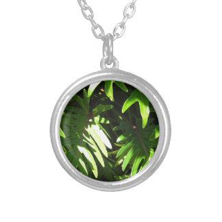 Tropical green pendant