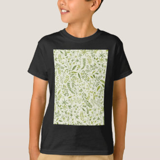 Tropical green pattern T-Shirt