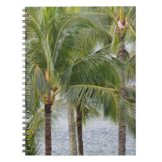 Tropical Hawaii Palm Trees Notebook