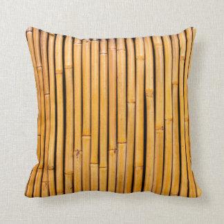 Tropical Hawaiian Bamboo Background Template Throw Cushions