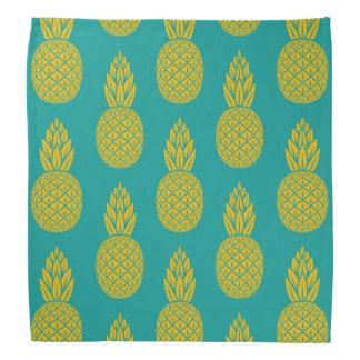 Tropical Hawaiian Pineapple Pattern Bandana