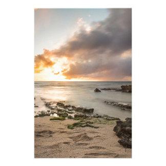 Tropical Hawaiian Sunset Stationery