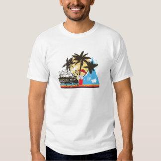 tropical heat design shirt