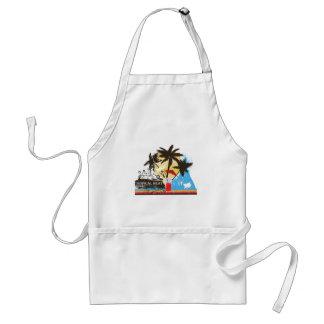 tropical heat design standard apron