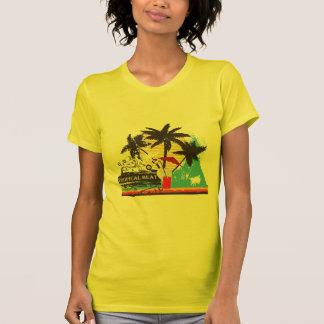tropical heat design tees