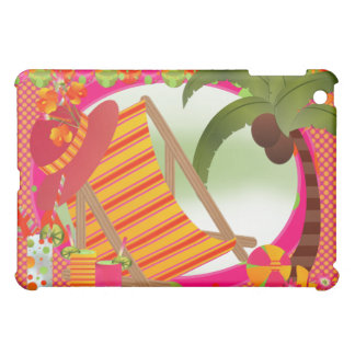 Tropical Heaven Orange Pink Beach  iPad Mini Cases
