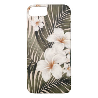 Tropical Hibiscus Aloha Shirt Print iPhone 8/7 Case