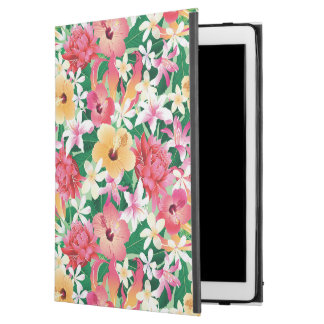 """Tropical Hibiscus Floral Pattern iPad Pro 12.9"""" Case"""