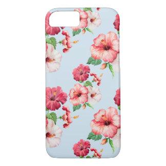 Tropical Hibiscus Hawaiian Floral Customizable iPhone 8/7 Case