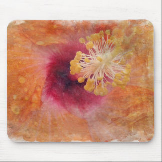Tropical Hibiscus Mouse Pad
