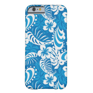 Tropical Hibiscus Pattern Barely There iPhone 6 Case
