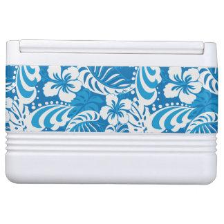 Tropical Hibiscus Pattern Igloo Cool Box