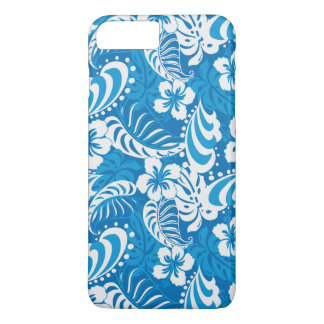 Tropical Hibiscus Pattern iPhone 7 Plus Case