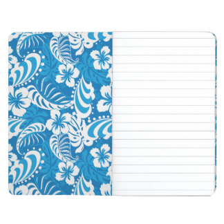 Tropical Hibiscus Pattern Journal