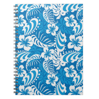 Tropical Hibiscus Pattern Notebooks