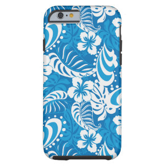 Tropical Hibiscus Pattern Tough iPhone 6 Case