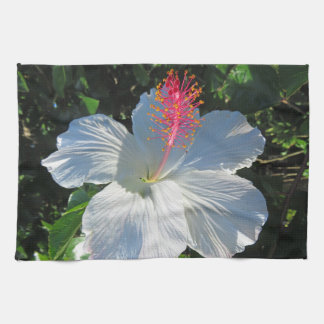 Tropical Hibiscus Tea Towel