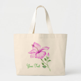 Tropical Hibiscus tote bag