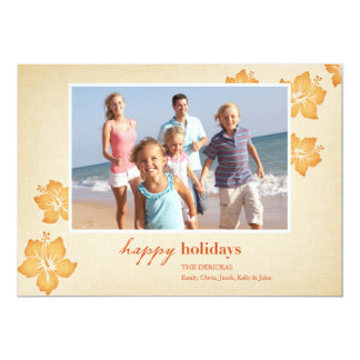 Tropical Holiday Cards 13 Cm X 18 Cm Invitation Card