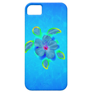 Tropical Honu Turtle and Hibiscus iPhone 5 Case