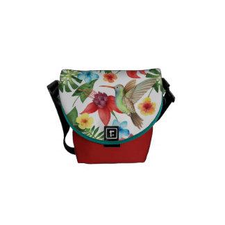 Tropical Hummingbird Commuter Bags
