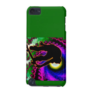 Tropical Hurricane Eye with Skateboarder iPod Touch (5th Generation) Case