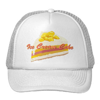 Tropical Ice Cream Cake Hat