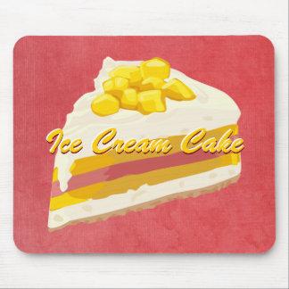 Tropical Ice Cream Cake Mousepad
