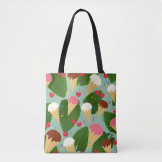 Tropical Ice Cream Tote Bag