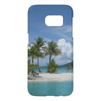 Tropical island dreaming phone case