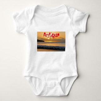 Tropical island in Antigua Baby Bodysuit