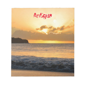 Tropical island in Antigua Notepad