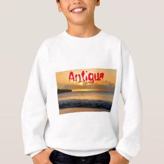 Tropical island in Antigua Sweatshirt