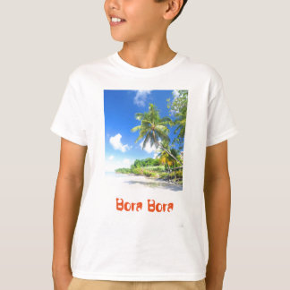 Tropical island in Bora Bora T-Shirt