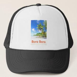 Tropical island in Bora Bora Trucker Hat