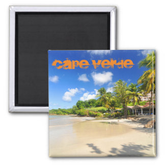 Tropical island in Cape Verde Magnet