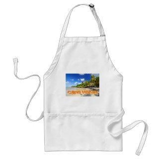Tropical island in Cape Verde Standard Apron