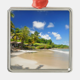 Tropical island in Cayman Islands Christmas Ornament