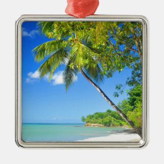 Tropical island in Dominican Republic Christmas Ornament