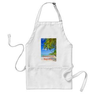 Tropical island in Dominican Republic Standard Apron