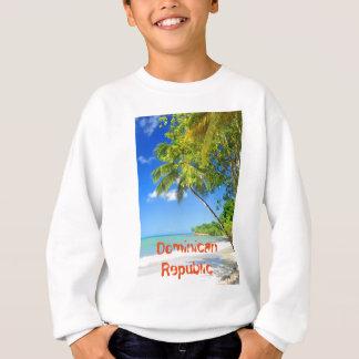 Tropical island in Dominican Republic Sweatshirt