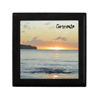Tropical island in Grenada Gift Box