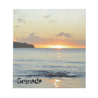 Tropical island in Grenada Notepad