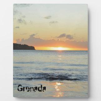 Tropical island in Grenada Plaque