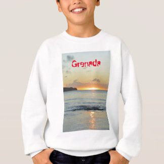 Tropical island in Grenada Sweatshirt
