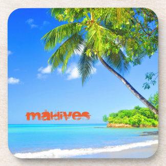 Tropical island in Maldives Coaster
