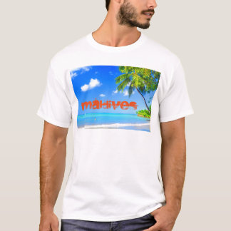 Tropical island in Maldives T-Shirt
