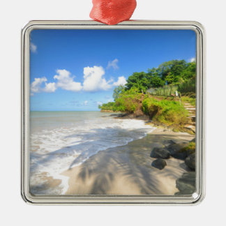 Tropical island in Puerto Rico Christmas Ornament