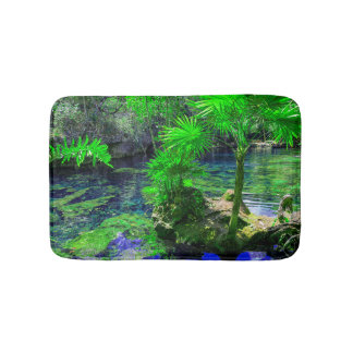 Tropical Island Lagoon Bath Mat
