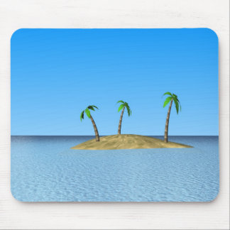 Tropical Island Mouse Pads